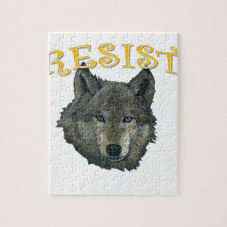 Resistance Wolf Jigsaw Puzzle