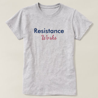 Resistance Works Red Blue Persist T-Shirt