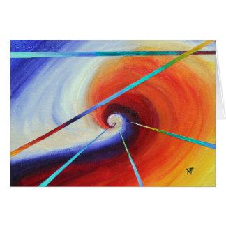 Resisting Mainstream - abstract art Card