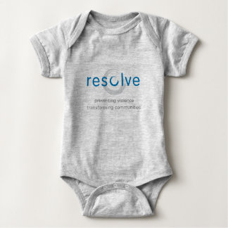 Resolve Baby Outfit Baby Bodysuit
