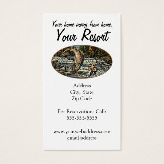 Resort Customize Business Card