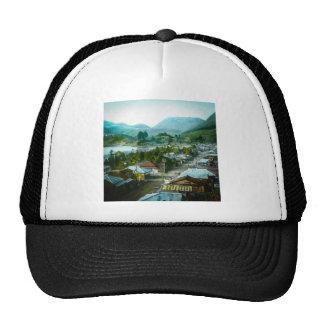 Resort Village of Hakon Lake Ashi in Old Japan Trucker Hat