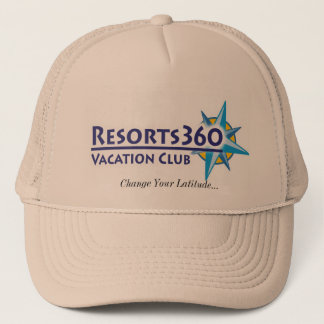 Resorts 360 Hat - Change Your Latitude...