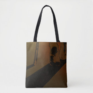 """""""Respect"""" All-Over-Print Tote Bag"""
