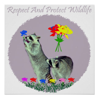 Respect And Protect Wildlife Poster