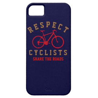 respect bicyclists sport-themed iPhone 5 cases