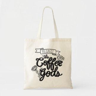 Respect Coffee Gods Tote Bag