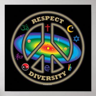 respect diversity blk poster