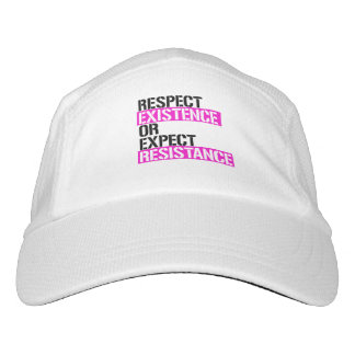 Respect Existence or Expect Resistance - Pink Live Hat