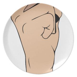 Respect finger plate