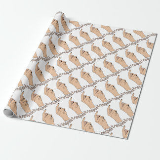 Respect finger wrapping paper