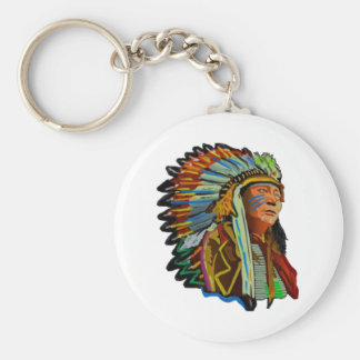 RESPECT FOR NATURE BASIC ROUND BUTTON KEYCHAIN