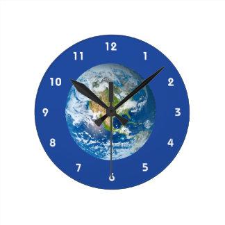 Respect Future Planet Earth Clock