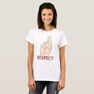 Respect in ASL T-Shirt