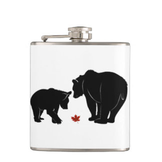 Respect Is Everywhere Canada Day Flask