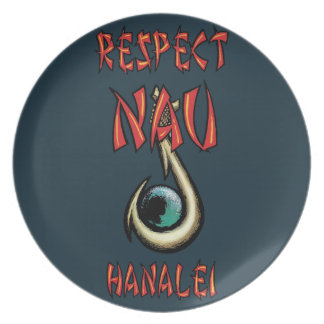 Respect Nau Hanalei Party Plates
