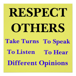 Respect Others Poster