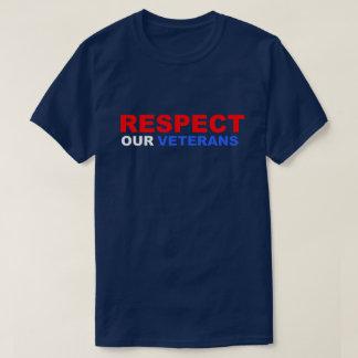 Respect Our Veterans Vietnam Soldier USA Patriotic T-Shirt