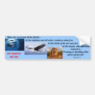 Respect our Wildlife Bumper Sticker