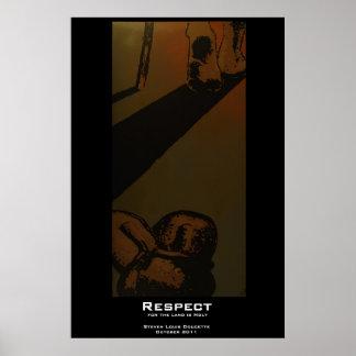 """Respect"" Poster Print"
