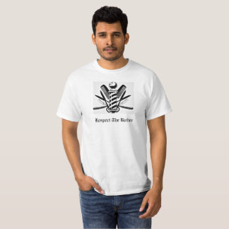 Respect The Barber T-shirt
