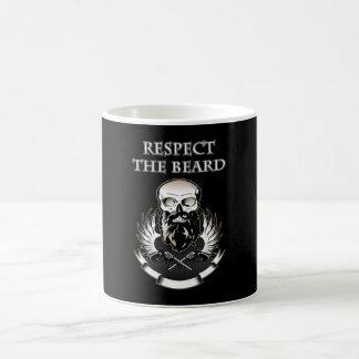 RESPECT THE BEARD Gifts & Shirts for Beard Lovers Coffee Mug