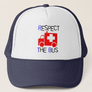 Respect the Bus Trucker Hat