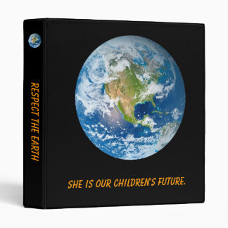 Respect the Earth 3 Ring Binders