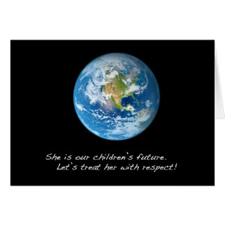 Respect the Earth Card