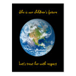 Respect the Earth - Earth Day Post Card