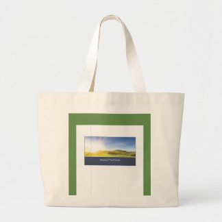 RESPECT THE PLANET LARGE TOTE BAG