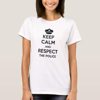 Respect The Police T-Shirt