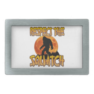 Respect The Squatch Belt Buckle