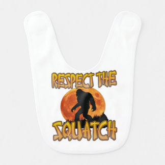 Respect The Squatch Bib