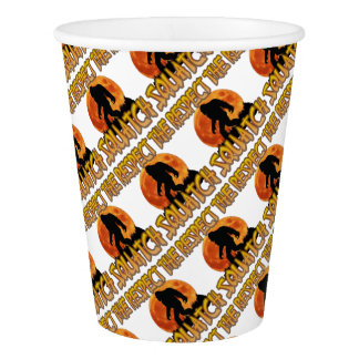 Respect The Squatch Paper Cup