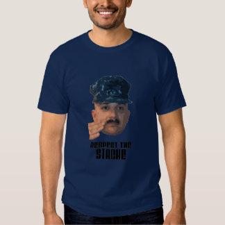 Respect The Stache Tshirt