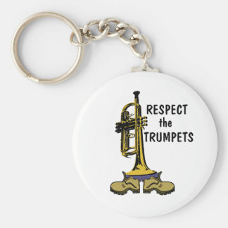Respect the Trumpets Keychain