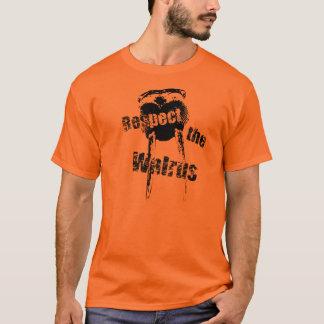 Respect the walrus. T-Shirt