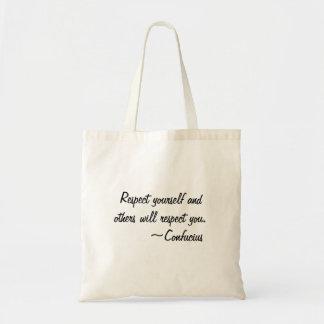 Respect Tote Bag