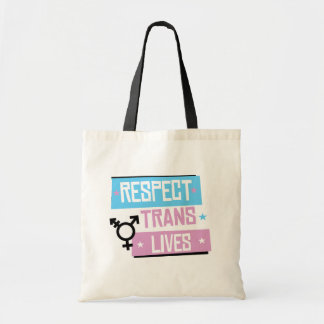 Respect Trans Lives - -  Tote Bag
