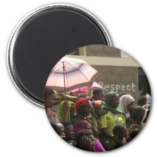 Respect Women Ethiopia Magnet