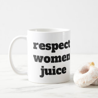 Respect Women Juice Coffee Mug