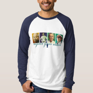Respect Your Elders (color long sleeve) T-Shirt