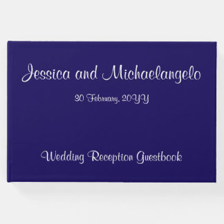 Respectable, Simple Wedding/Marriage Guestbook