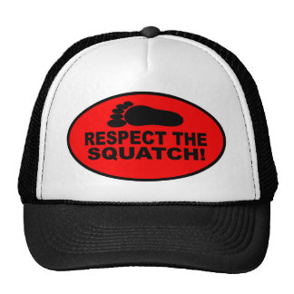 RESPECTEZ LE SQUATCH !  Ressemblez à un PRO en Bob Casquettes