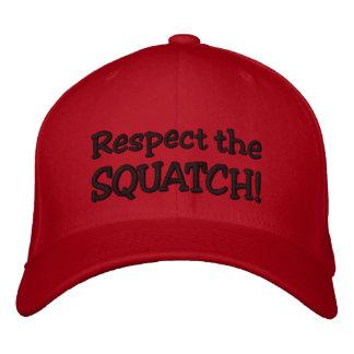 RESPECTEZ LE SQUATCH !  Ressemblez à un PRO en Bob Casquettes De Baseball Brodées