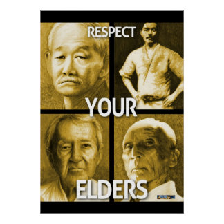 Respectez vos aînés la grande affiche