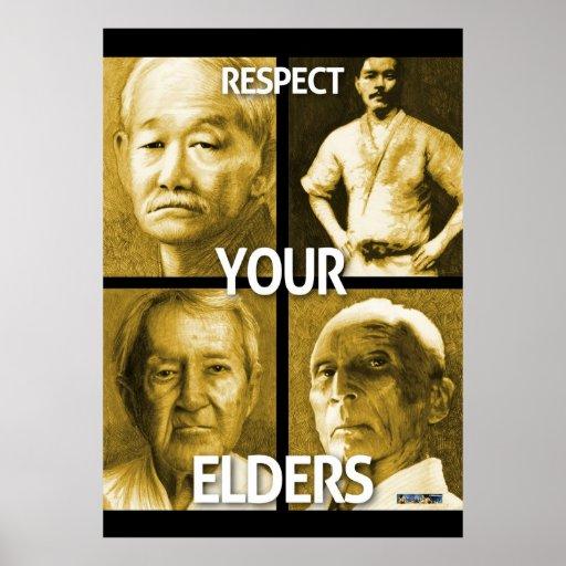 Respectez vos aînés (la grande affiche)