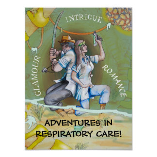RESPIRATORY CARE ADVENTURE by Slipperywindow Poster