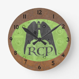 RESPIRATORY CARE SYMBOL by Slippperywindow Wall Clocks